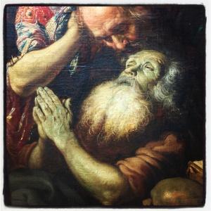 La mort de saint Antoine de Claude Vignon