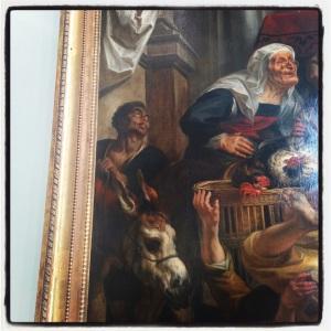 Jésus chassant les vendeurs du temple de Jacob Jordaens