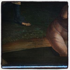 Minerve chassant les Vices du jardin de la Vertu ou Le Combat de l'Amour et de la Chasteté d'Andrea Mantegna