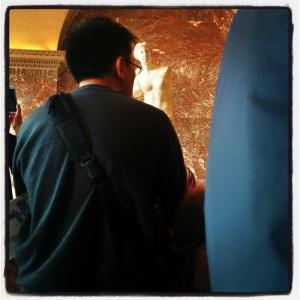 Au Louvre, j'aime Le Big Five O