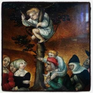 Le jugement de Pâris et la destruction de Troie de Mathis Gerung