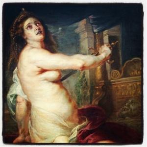 La mort de Didon de Petrus Paulus Rubens