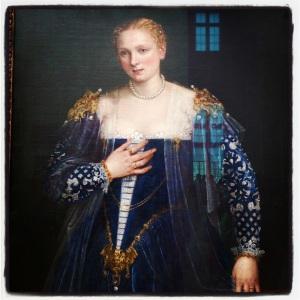 Portrait d'une vénitienne, dite La Belle Nani de Paolo Caliari
