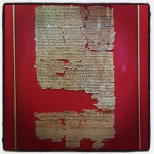 Lettre de Gennadios à Pesynthios à propos d'une herbe médicinale