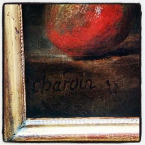 Panier de raisins, gobelet d'argent et bouteille de Jean-Siméon Chardin