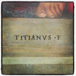 Le couronnement d'épines de Tiziano Vecellio
