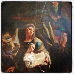L'éducation de la vierge de Giovanni Battista Tiepolo