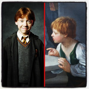 Ronald Bilius Weasley et La purification de la Vierge de Guido Reni