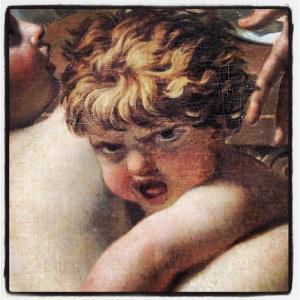 Les sabines arrêtant le combat entre les romains et les sabins de Jacques-Louis David