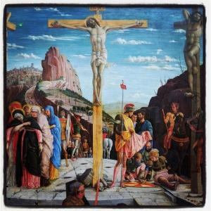 La crucifixion d'Andrea Mantegna
