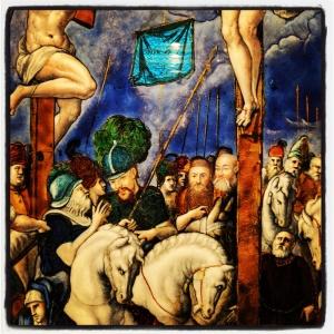 La crucifixion de Léonard Limosin