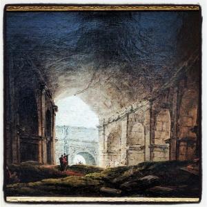 Intérieur du Colisée d'Hubert Robert