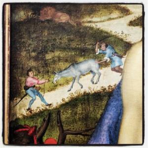 La vierge et l'enfant entourés de saint Jérôme et saint Zénobe de Mariotto Albertinelli